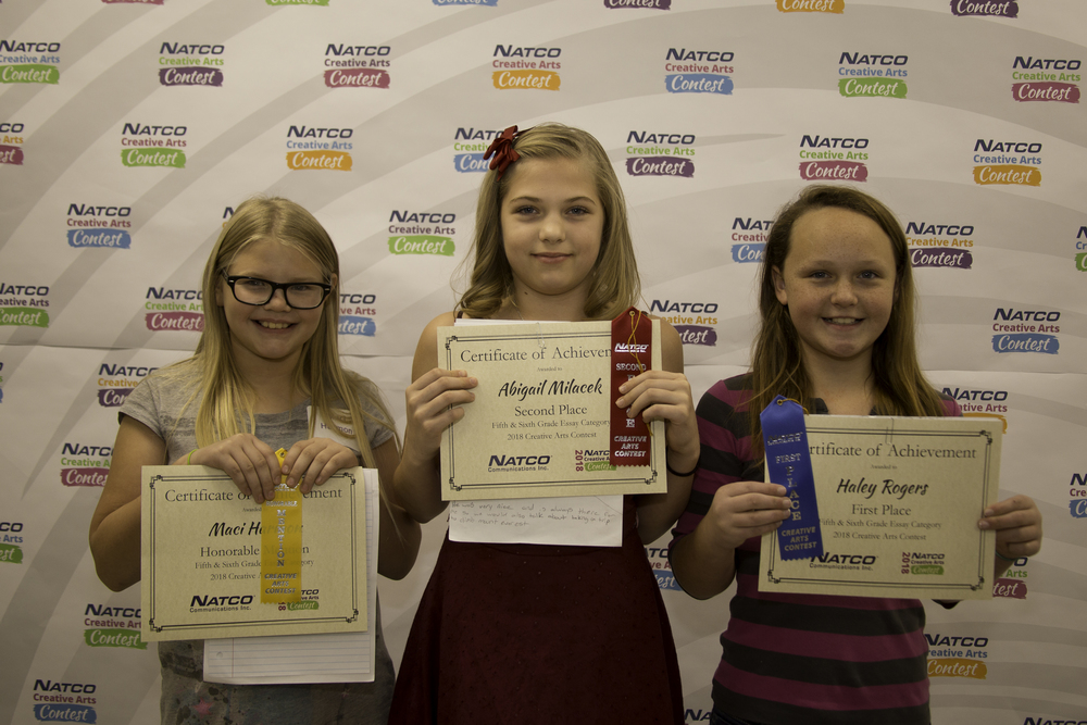 Group of 3 award winning children