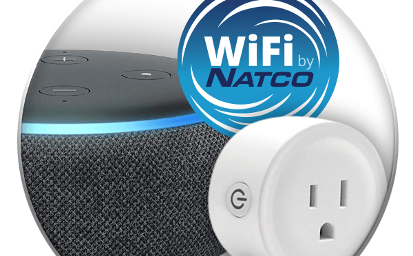Ad show echo dot and smart wifi plug