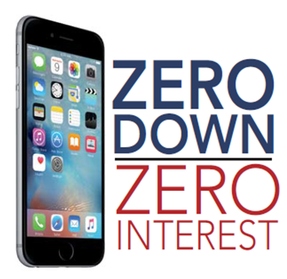 Zero Down - Zero Interest!