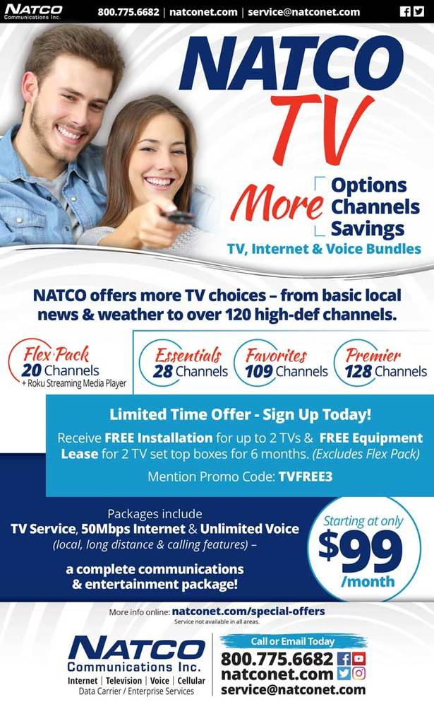 NATCO TV Informational Flyer