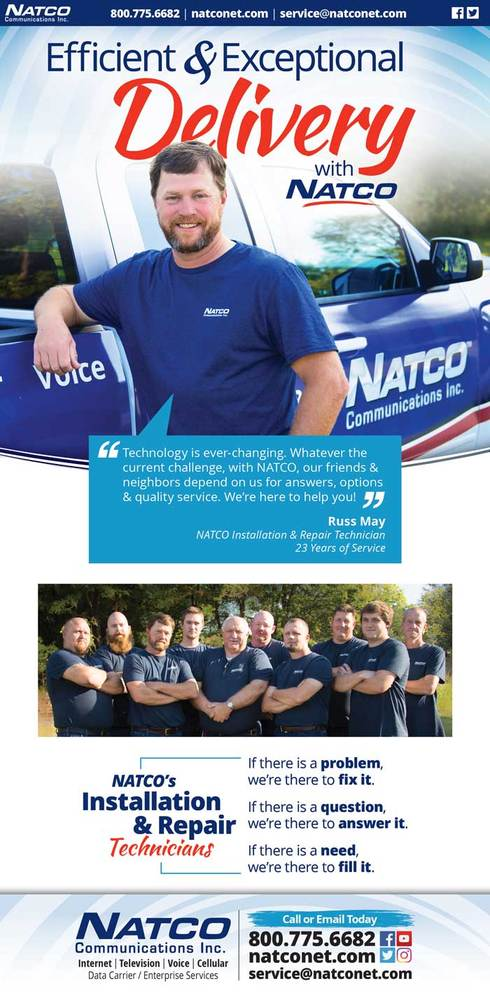 Efficient and exceptional delivery with NATCO