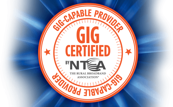 LEADING THE REGION To Bring YOU the WORLD! Gig Certified