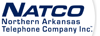 NATCO - Northern Arkansas Telephone Company Inc. Logo