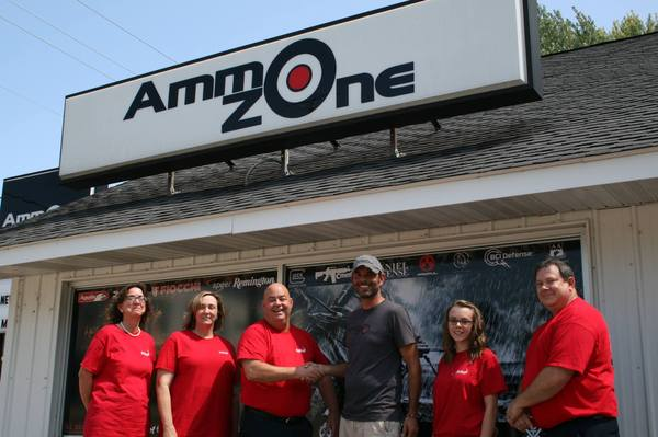 AmmoZone store front