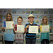 5th 6th Essay and Photo Burleson Taylor Hickman Dees holding their certificates